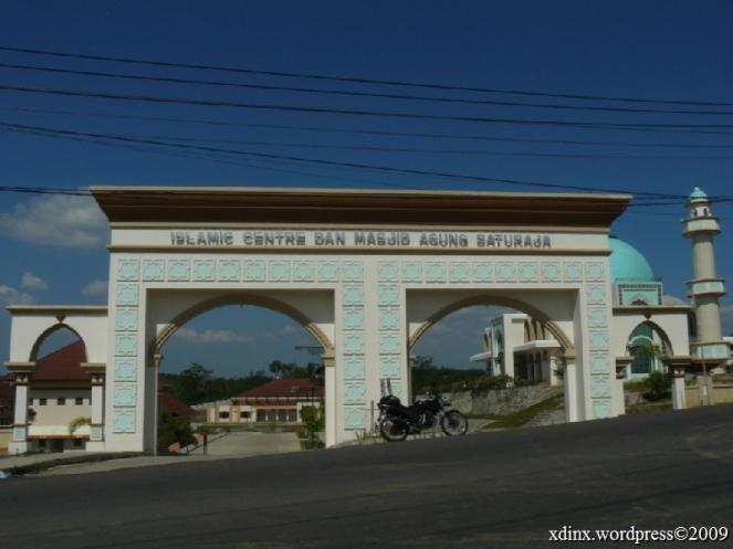 Islamic Centre dan Mesjid Agung Baturaja - Lampung