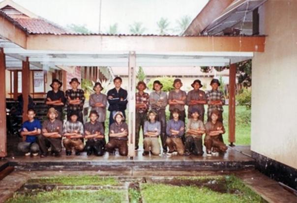 Para siswa PDBW XV Angkatan Rawa Lembang